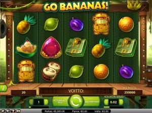 Uutuuspeli Go Bananas