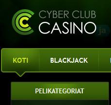 Älä pelaa Cyber Club Casinolla
