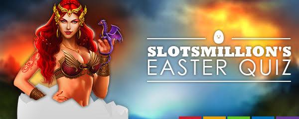 SlotsMillion Casino järjestää pääsiäisvisan -arvaa peli ja voita bonus!